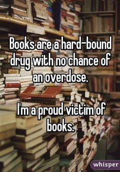 18 Confessions Only True Book Lovers Will Understand 18 confessions que les vrais amoureux des livres comprendront I Love Books, Good Books, Books To Read, My Books, Book Memes, Book Quotes, Life Quotes, Quotes For Book Lovers, Career Quotes
