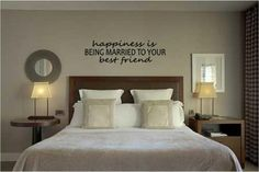 Happiness is... - Vinyl Wall Decal Sticker Art via Etsy