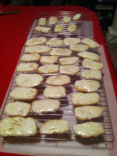 lemoncello iced ricotta cookies!  easy to make (and to eat)