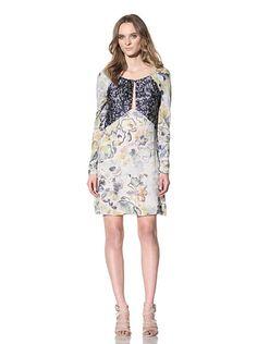 Chloé Women's Long Sleeve Print Dress