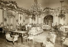 VISIT FOR MORE Grand Salon Cornelius Vanderbilt II house 1894 at Fifth Avenue and Street. Salon designed by Jules Allard et Fils. The post Grand Salon Cornelius Vanderbilt II house 1894 at Fifth Avenue and Stree appeared first on street. Cornelius Vanderbilt, American Mansions, Grands Salons, Six Story, Saint Ouen, Old Mansions, Luxury Mansions, Abandoned Mansions, Abandoned Houses