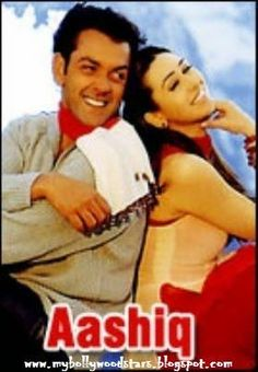 #Aashiq - Enjoy superhit Hindi movie Aashiq starring #BobbyDeol #KarishmaKapoor and #RahulDev exclusively on #MyBollywoodStars #HindiMovies #INdianMovies #BollywoodMovies click the image to watch the movie now...