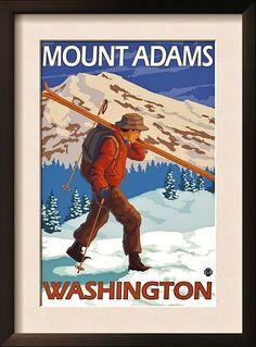 Climb/Ski Mt Adams - Spring/Summer 2012