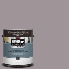 "my bathroom wall paint color - BEHR  ""Heather Plume""  - The Home Depot. soft dusty purple."