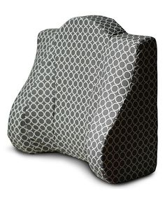 Look what I found on #zulily! Gray Support Pillow by Back Buddy® #zulilyfinds