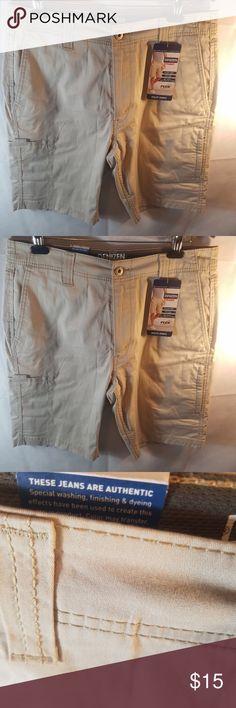 Denizen From Levi/'s Men/'s Shorts Navy Blue Cargo Utility Shorts Sizes 32 34 /& 38