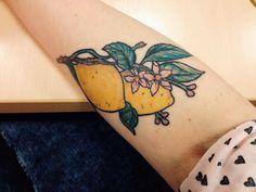 When life hands you lemons, make lemonade. Lemontattoo lemon tattoo citrus
