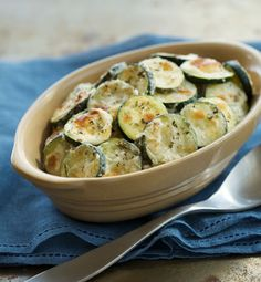 Parmesan and Ranch Baked Zucchini Coins. It's a trio of terrific flavors coming together in perfect harmony. What else could you ask for?