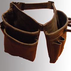 boy's leather tool belt