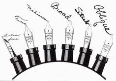 Parker Fountain Pen nibs