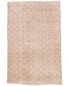 restoration hardware rug orange