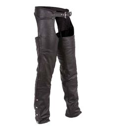 Unisex Classic Braided Leather Motorcycle Chaps by First Mfg Motorcycle Chaps, Motorcycle Leather, Motorcycle Outfit, Motorbike Clothing, Motorcycle Accessories, Biker Chick Style, Harley Davidson Merchandise, Harley Gear, Moto Pants