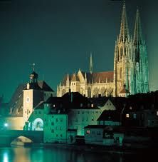 again, the classic from North West (bridge and Cathedral) Regensburg Germany, Cathedrals, Bavaria, Mosque, North West, Places Ive Been, Travel Photography, Bridge, Classic