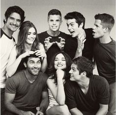 The teen wolf cast