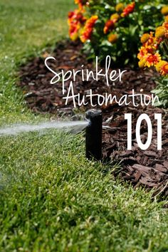 Sprinkler Automation how to