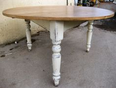 round pine farmhouse table  love it    it will go with your cart