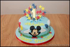 mickey mouse 1st birthday cake | Mickey Mouse First Birthday Cake | Flickr - Photo Sharing!