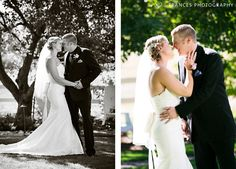 Frances Photography Colorado Weddings First Look @ Our Lady of Fatima in Lakewood