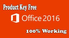 Microsoft Office 2016 Product Key Free For Your PC