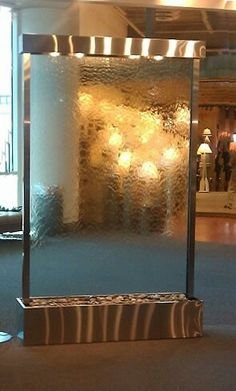 1000 Images About Glass Waterwall On Pinterest Water