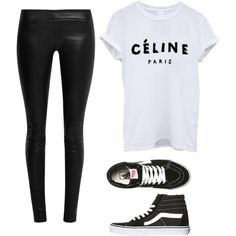 Casual by luluheiz on Polyvore featuring polyvore fashion style The Row Vans