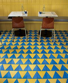 Beachwood Cafe - Cement Tile
