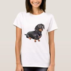 Tan T Shirt, Dachshund Gifts, Dog Portraits, Wardrobe Staples, Fitness Models, Female, Casual, Mens Tops, How To Wear