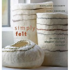 The fundamentals of felting including choosing fibers and colors, making flat felt and boiling felt, and stitching felt are demonstrated ...