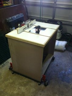 BUILDING MY ROUTER TABLE