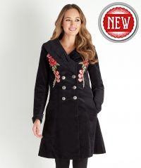 Elegant Embroidered Coat