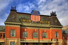Union Pacific Building America Logo | Union Pacific Depot, Salt Lake City | Flickr - Photo Sharing!