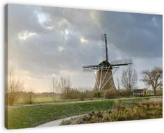 Windmill near Abcoude, Netherlands