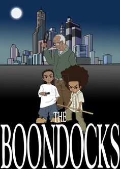 The Boondocks ~ By Aaron McGruder: Meet Aaron McGruder's The Boondocks: Huey and Riley Freeman, Jazmine DuBois, and Huey's best friend, Caesar. This comic strip reflects the racial diversity and complexity of our world. Combining Huey's childish antics with contemporary political and social satire, the strip explores the terrain where dashikis and Brand Nubian CDs meet The Gap and Hanson. The perspective offered by this mixture of cultures, lifestyles, and races provides for much of the…