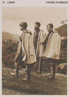 Βοσκοί από τον Ομαλό.  Lakki. Patres d'Omalo. 1919 BAUD-BOVY, Daniel, BOISSONNAS, Frédéric. Des Cyclades en Crète au gré du vent, Γενεύη, Boissonnas & Co, 1919.Βιβλιοθήκη Ιδρύματος Αικατερίνης Λασκαρίδη