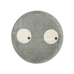 Rug . Round - Curious Eyes / Grey