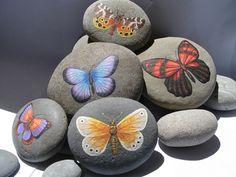 Example of Painted Stones