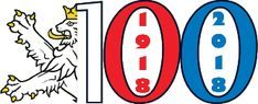 Výsledek obrázku pro 100 let republiky Czech Republic, Lululemon Logo, The 100, Culture, Let It Be, History, Logos, Pride, Historia