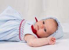 Rochy - Designer clothing for newborns and babies. Made in Spain. Little Girl Dresses, Nice Dresses, Little Girls, Girls Dresses, Smocking Baby, Smocking Patterns, Bebe Baby, Baby Love, Heirloom Sewing