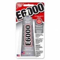 E-6000 lepidlo 59.1ml - E6000 je unikátne, vysoko výkonné lepidlo, formulované na priemyselné účely. Je známe svojou výnimočnou pevnosťou a silou. Je všestranné, flexibilné a ľahko priľne k väčšine po