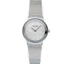 Buy Accurist Ladies' Silver Plated Mesh Strap Watch at Argos.co.uk, visit Argos.co.uk to shop online for Ladies' watches, Watches, Jewellery and watches