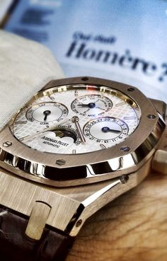 Audemars Piguet  www.ChronoSales.com for all your luxury watch needs, sign up for our free newsletter, the new way to buy and sell luxury watches on the internet. #ChronoSales http://amzn.to/2sqsgS2