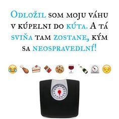 Nieco po sviatkove pre nas, ktori sme uz v praci.  #odlozit #moja #vaha #kupelna #svina #zostat #ospravedlnenie #prepac #sorry #najprvjetosrandapotomslzy #humor #sranda #pondelok #dobroty #sviatky #tucniak #jedlo #citat #citaty #citatysk #slovak #slovakia #slovensko #quote #quotes