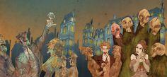 La Traviata a fumetti è in mostra al Teatro del Giglio