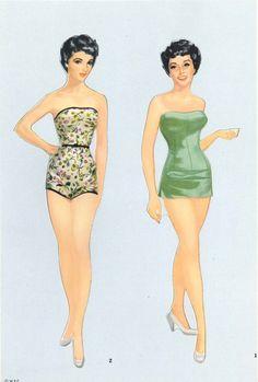 Elizabeth Taylor* The International Paper Doll Society by Arielle Gabriel for…