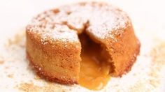 Molten Butterscotch Cakes Recipe - Laura in the Kitchen