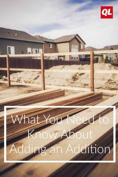 how to build an addition to your home
