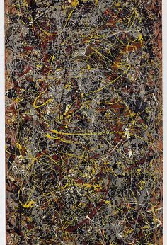 Most Expensive Paintings in the World: No. 1948 by Jackson Pollock - Rich and Loaded Action Painting, Drip Painting, Painting Lessons, Jackson Pollock No 5, Most Expensive Painting, Expressionist Artists, Abstract Expressionism, Watercolor Paintings Abstract, Watercolor Artists