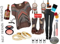 """""""A Best Friend Kinda Night"""" by country-girls-world ❤ liked on Polyvore"""