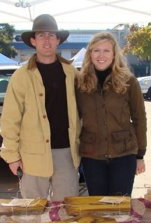 Tammy and christine henke of henke farms in good hope for Christine henke