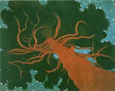 Georgia O'Keeffe The Lawrence Tree - DateUnknown Art History Archive Georgia O Keeffe Paintings, Georgia O'keeffe, New York Art, Abstract Painters, Tree Art, Community Art, American Artists, Landscape Paintings, Tree Paintings